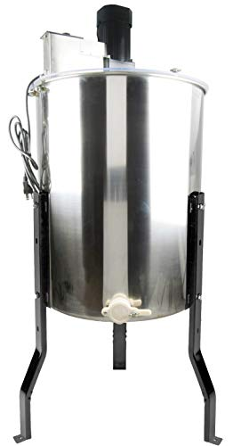 Vivo Electric 4-frame stainless steel honey extractor BEE V004E