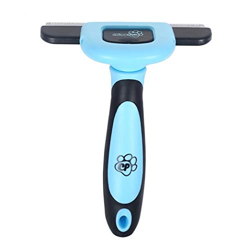Chirpy Pets Dog & Cat Brush for Shedding, Best Long & Short Hair Pet Grooming Tool, Reduces Dogs and Cats Shedding Hair by More Than 90%, The Deshedding Tool