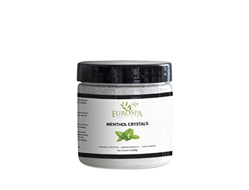 Menthol Crystals Natural Room & Spa Quality Freshener - 100% Pure and Natural from Peppermint 2oz