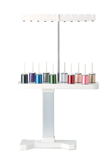 HONEYSEW 10-Spool Thread Stand For Brother PE770, LS2125i, XL2230