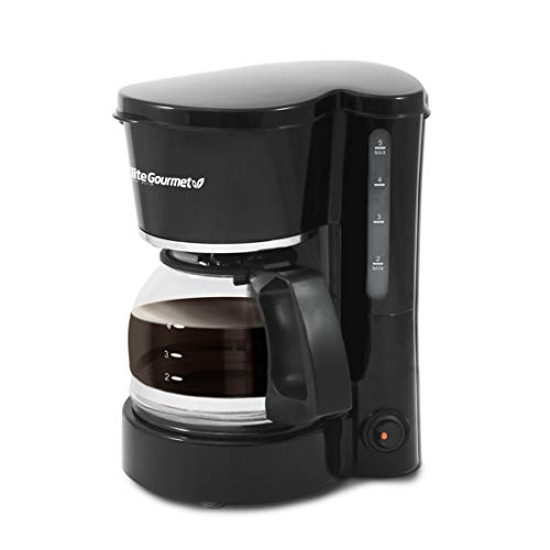 Elite Cuisine EHC-2022 Maxi-Matic 4 Cup Coffee Maker with Pause...