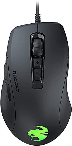 Roccat Kone Pure Ultra Souris de Jeu Ergonomique légère 16 000 Dpi Capteur Optique RGB Éclairage Ultra Léger Noir