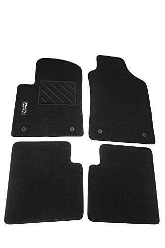 Mopar Authentic Accessories 71807922 Tappetini in Moquette per Auto. Colore Nero