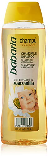 Babaria Champú Niños Manzanilla, Blanco, Aromatic, 600 Mililitros