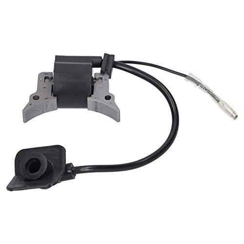 Bobina di accensione CG328 da 52 mm Bobina di accensione CG328 Parti del sistema di avviamento della bobina di accensione adatta per TANAKA Decespugliatore Tosaerba ABS + Lega di acciaio