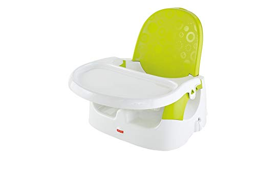 Fisher Price Quick Clean N' Go Booster - Basic, Multi Color