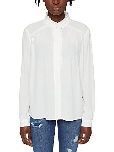 Esprit Women's 101EE1F322 Blouses, 110 / Off White, 40