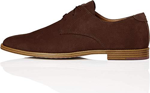 find. Zapato Clásico con Cordones para Hombre, Marrón (Brown), 43 EU
