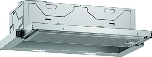 Neff D46BR22X1 - Cappa aspirante da incasso, N30, 60 cm, scarico o ricircolo, efficienza energetica B, colore: Argento metallizzato