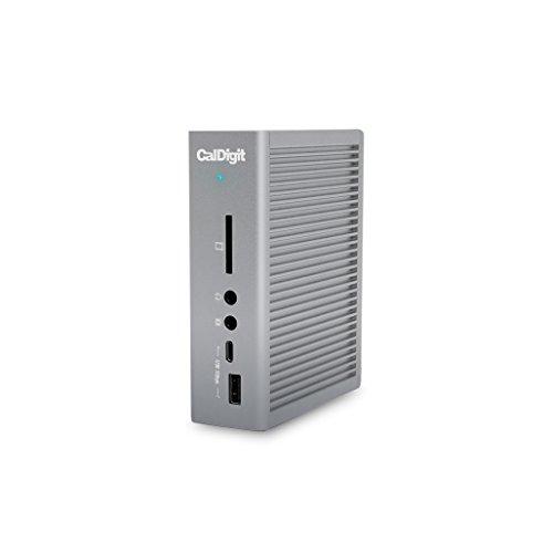 CalDigit TS3 Plus Thunderbolt 3 ドック - 85W充電、7X USB 3.1、USB-C Gen 2、DisplayPort、UHS-II SDカ...