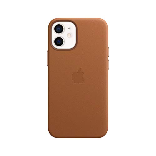 MagSafe対応iPhone 12 miniレザーケース - サドルブラウン