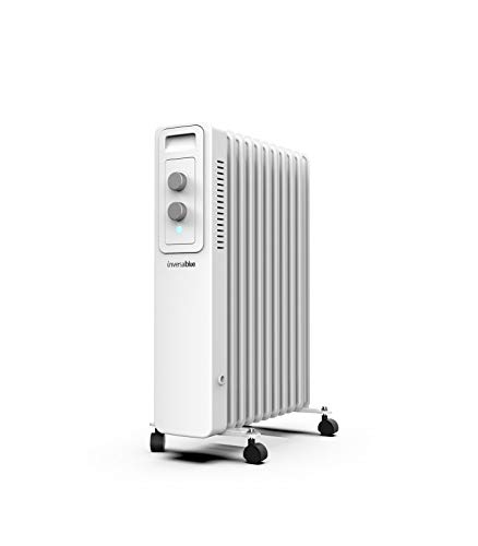 UNIVERSALBLUE   Radiador de Aceite   Calefactor Blanco  ...