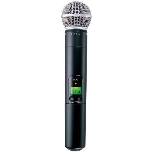 1. Shure Handheld Transmitter Microphone (SLX2/SM58)