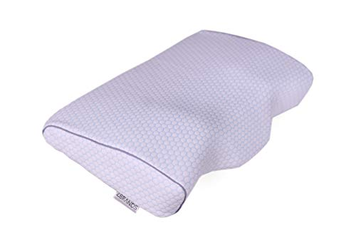 ZBRANDS Contour Memory Foam Pillow for Side Sleepers