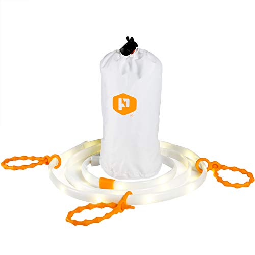 Luminoodle - The Original LED Light Rope (Includes Lithium 4400 Battery, 5 FT)