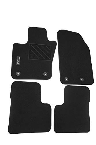 Mopar® Authentic Accessories 71807502 Tappetini in Moquette per Auto. Colore Nero