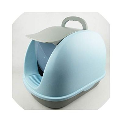 15% Extra Large Deodorant Anti Splashing Deodorant Cat Sand Table Cat Litter Basin Fully Enclosed Cat Toilet Supplies