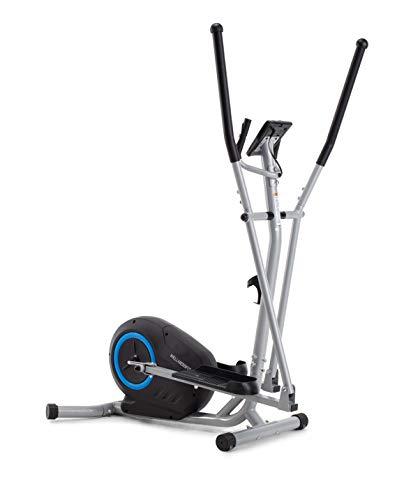 Cadence WellnessFit E Vélo elliptique unisexe, noir et bleu