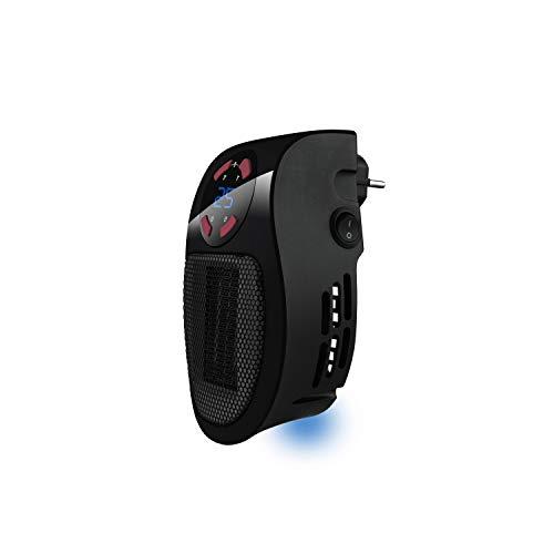 Taurus Tropicano Plug Heater Mini cerámico portátil, Ligero y...