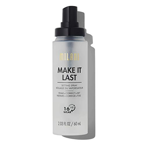 Milani Make It Last 3-in-1 Setting Spray - Prime + Correct + Set (2.03 Fl. Oz.) Cruelty-Free Makeup Setting Spray - Long Lasting Makeup Spray