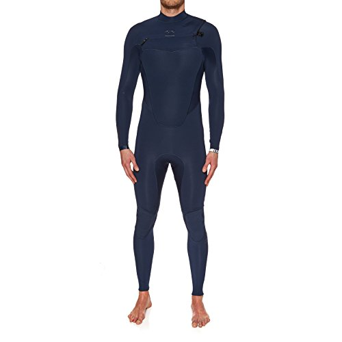 BILLABONG 2017 Absolute Comp 3/2mm Chest Zip Wetsuit Navy F43M21 Sizes- - Large