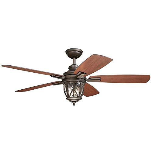 Allen Roth Ceiling Fan Buyer's Guide: Castine 52.0-in Rubbed Bronze Ceiling Fan
