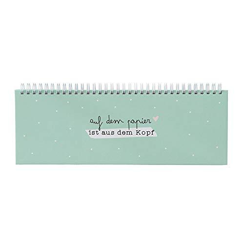 Odernichtoderdoch Tischkalender mint   Auf dem Papier ist aus dem Kopf   52 Wochen - undatiert - Querformat