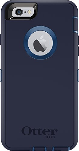 Otterbox Defender Iphone 6/6s Case - Frustration Free Packaging - Indigo Harbor (Royal Blue/Admiral Blue)