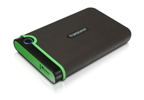 旧モデル Transcend USB3.0/2.0 2.5インチHDD ポータブルハードディスク 耐衝撃 M3シリーズ 1TB 3年保証 TS...