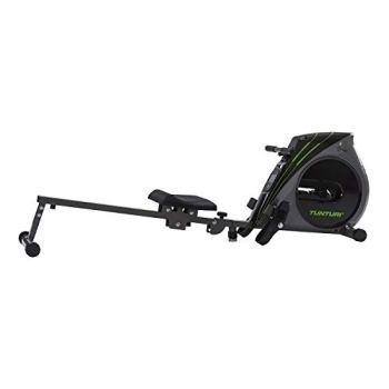 Tunturi Cardio Fit R20 Rameur d'appartement Pliable / Machine à ramer / Rowing machine - avec écran LCD - de Résistance Réglable - ordinateur d'entraînement