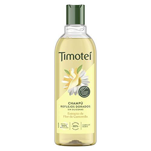 Timotei champú reflejos dorados para cabello rubio con extr