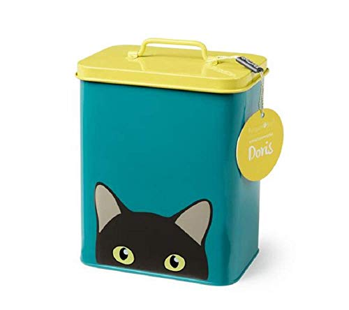 Burgon & Ball - Creaturewares - Caja de Almacenamiento para Comida de Mascotas