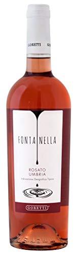 Fontanella Rosato - Goretti - IGT Colli Perugini - Umbria - 0,75 LT - Vino Rosato