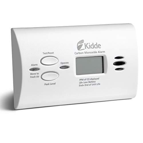 Kidde KN-COPP-B-LPM Alarma de monóxido de carbono operado con batería con pantalla digital