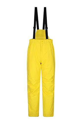 Mountain Warehouse Pantaloni Corti da Sci Dusk Uomo, Impermeabili, isolati, Tasche con Cerniere,...