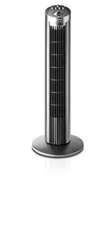Taurus Alpatec Babel - Ventilateur colonne sans télécommande, 3 vitesses, 45W, couleur gris