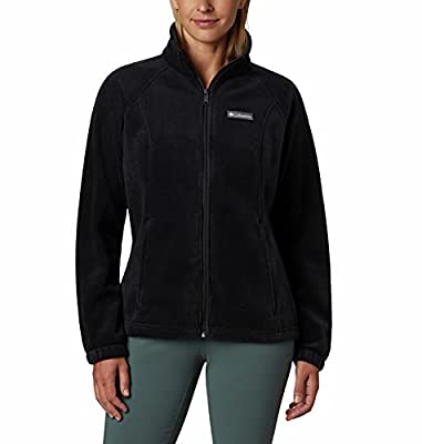 SOFT FABRIC: This Columbia Women's Benton Springs Full Zip fleece is crafted of soft 100% polyester MTR filament fleece for ultimate warmth. HANDY FEATURES: This Columbia women's fleece jacket features two side zippered security pockets to keep your ...