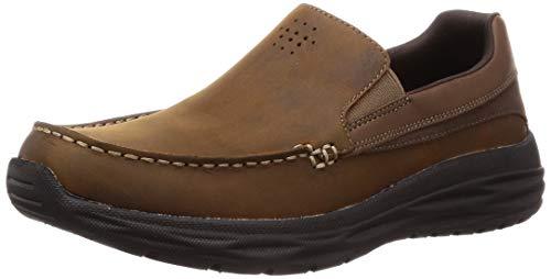 Skechers Men's Harsen-Ortego Loafers, Brown (Brown Cdb), 9.5 UK (44 EU)