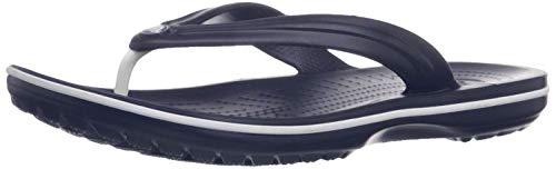 Crocs Crocband Flip-Flop, Navy, Men's 12, Women's 14 Medium