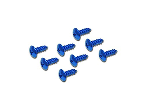 キタコ(KITACO) アルミタッピングビス(M5×16mm/8ヶ) 汎用 ブルー 0900-056-08007