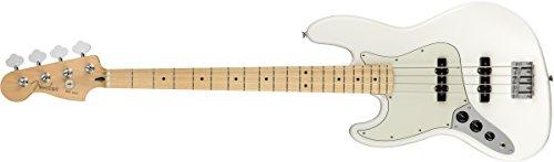 Fender エレキベース Player Jazz Bass® Left-Handed, Maple Fingerboard, Polar White