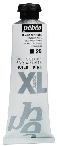 Pebeo 37 ml XL Studio Belle Olio, Bianco di Titanio