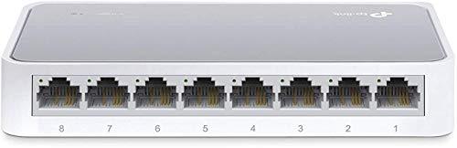 TP-Link TL-SF1008D Switch Desktop, 8 Porte RJ45...