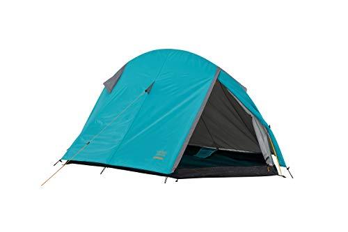 Grand Canyon Cardova 1 - leichtes Zelt, 1 - 2 Personen, für Trekking, Camping, Outdoor, Festival mit kleinem Packmaß, einfacher Aufbau, Wasserdicht, olive/schwarz, 302009