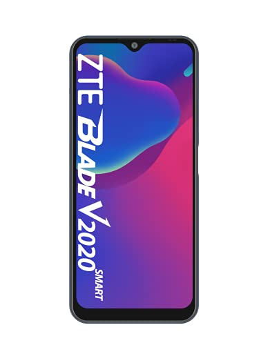 ZTE Smartphone Blade V2020 smart (17,32 cm (6,82 Zoll) TFT Display, 4GB RAM und 128GB interner Speicher, 16MP Haupt-Kamera, 8MP Front-Kamera, Dual-SIM, Android Q) grau