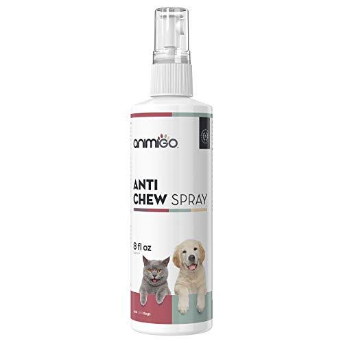 Animigo Spray Antimordeduras para Gatos y Perros | Spray Desalentador...