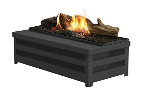 Planika Basket Fire Logs - Bioethanol Traditional Fireplace Insert (No remote control)