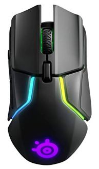 【 国内正規品 】ゲーミング マウス SteelSeries Rival 650 Wireless デュアルセンサー 重量・重心カスタマイズ機能 32ビットARM プロセッサー搭載 62456