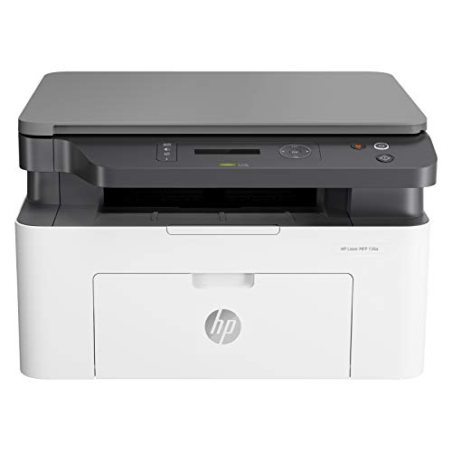 HP Laserjet 136a Laser Monochrome Print, Scan, Copy with USB Connectivity, Compact Design, Fast Printing