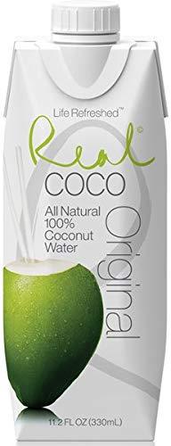 Real Coco Original Reines Kokoswasser 100% 330ml (12er...